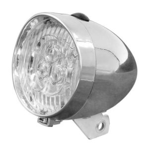 ŚWIATŁO POMOC. P JY-592A SILVER BOXSrebrna /3  SUPER JASNE LED,1 funkcyjna, baterie 3 x 1.5V AAA