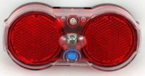 ŚWIATŁO POMOC. TYLNE 160315 A-R/bag1 funkc.1 SUPER LED,2xAAA, nabagażnik