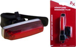 ŚWIATŁO POMOC. TYLNE USB XC-238 RUSB 2.0; COB LED;3 F; 35 lm;3,7V; 320mAh