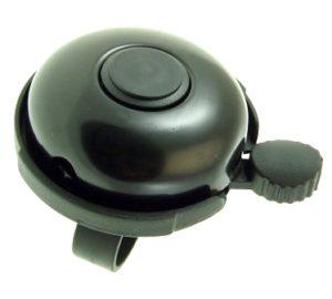 DZWONEK 165102 BLACK (d-53)CZARNY aluminiowo-plastikowy d-53mm
