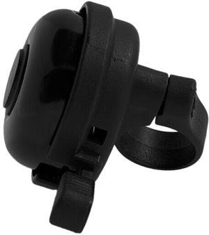 DZWONEK 165105 BLACK (d-45)CZARNY aluminiowo-plastikowy d-45mm