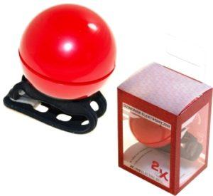 DZWONEK XC-149 REDczerwony, elektroniczny; 2xCR2032