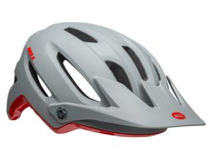 KASK BELL 4FORTY gray crimsonL (58-62cm)