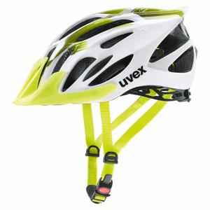 KASK UVEX FLASH WHITE/LIME53-56