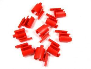 KOŃCÓWKA PLAST. POPYCHACZA SRAM 7V czerwona