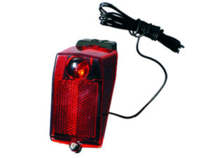 LAMPA TYŁ 160242 LED (YG-WD409)na błotnik,dioda.6V-0,5W,odbl.kabel 1,8