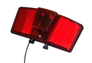 LAMPA TYŁ 160255 Bna bagażnik,2diody.6V-0,5W,rozstaw 80mm