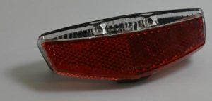 LAMPA TYŁ XC-172E E-BIKEBox/na bagażnik 50-80mm, 2 diody, 6V-48V