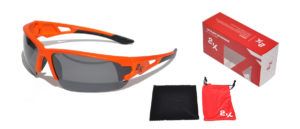 OKULARY 2K S-15001-E ORANGE polary.+revoUV-400