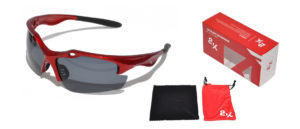 OKULARY 2K SB-12049 RED polaryz.+revoUV-400