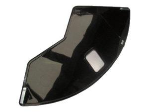 OSŁONA 171001 PL/B(pl/czarna-pełna)koła tył 26/28 plastik,pełna,czarna