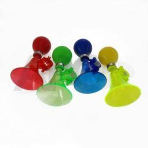 TRĄBKA 165138 (plastik/kolor l-150) zielony, niebieski, żółty, czerwony,