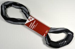 ZAMEK ROWEROWY 2K 85603 ŁAŃCUCH/SZYFR6x900 mm, 5-cio cyfrowy