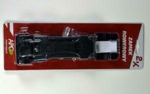ZAMEK ROWEROWY 2K 89812 SKŁADANY/SZYFR80 cm, pokrowiec, 4-ro cyfrowy