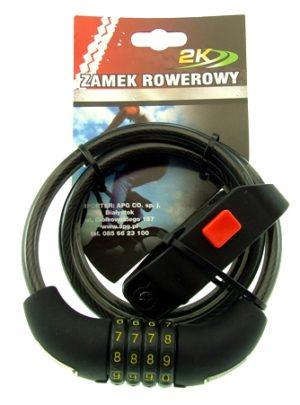 ZAMEK ROWEROWY HW225058/10-100szyfrBIKE LOCK code
