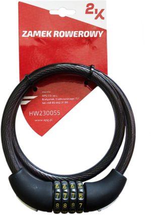 ZAMEK ROWEROWY HW230055/12-80(TY427)szyfBIKE LOCK