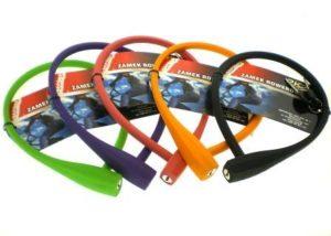 ZAMEK ROWEROWY HW230088/10-60 SILIKON250001/D10-600mm 5 kolorów