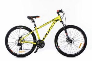 ROWER 26″ M RACER 15″ ALU 2xD  żół/neożółty neon alu. 2xD steff