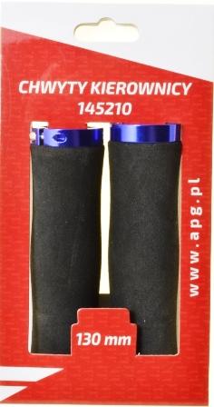 CHWYT KIER. HW 145210 czar-niebie 135mm superlekka pianka, obustronnie zaciskany