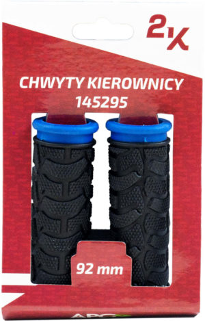 CHWYT KIER. HW 145295/B nieb-czar 92/92 guma PVC gripshift blister
