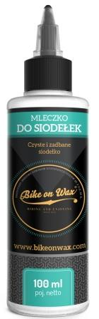 MLECZKO BIKE ON WAX DO SIODEŁEK