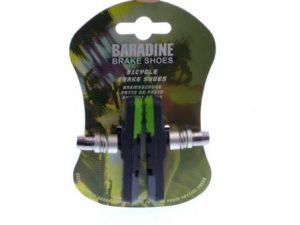 KLOCKI HAMULCOWE MTB-960V G/B/ – Baradine, czarno-zielony