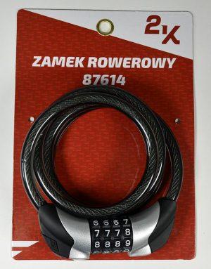 ZAMEK ROWEROWY 2K 87614/10-120