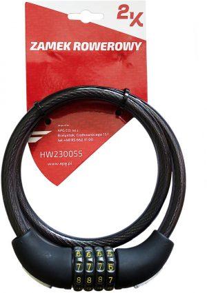 ZAMEK ROWEROWY 2K HW230055/12-80