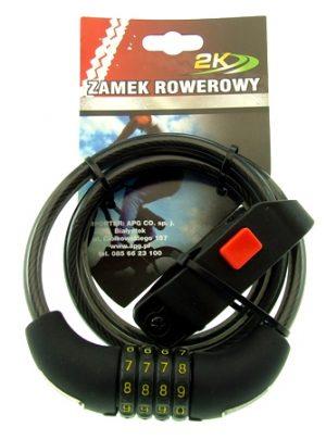 ZAMEK ROWEROWY HW225058/10-100szyfr BIKE LOCK code