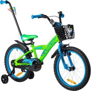 ROWER KARBON 18″ ALVIN zielono-niebieskiStal green blue